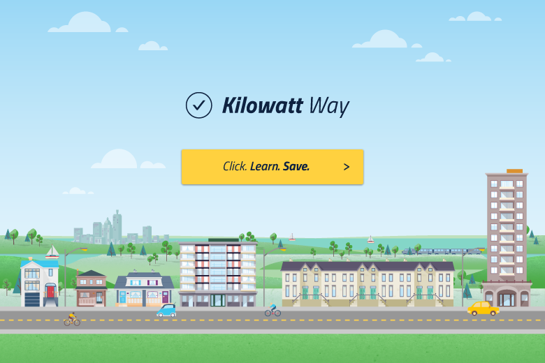 Kilowatt way graphics