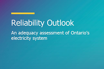 Reliability Outlook