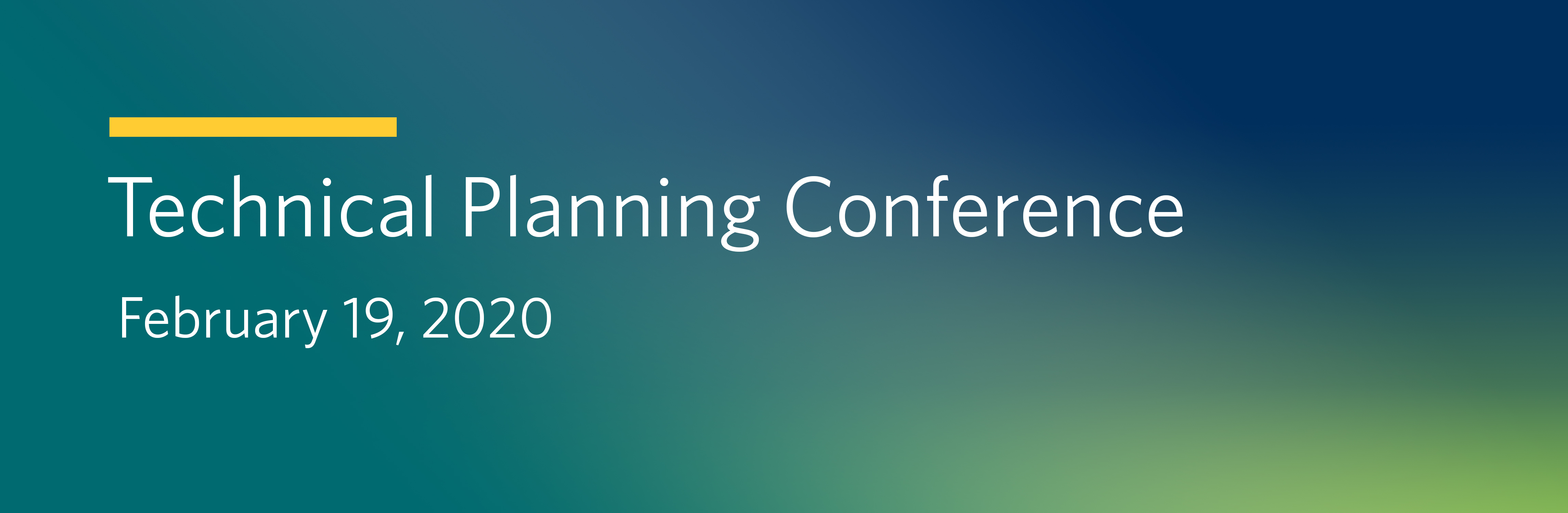 2018 IESO Technical Planning Conference
