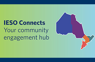 IESO Connects - your community engagement hub
