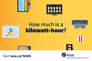 What is 1 kWh? infographic