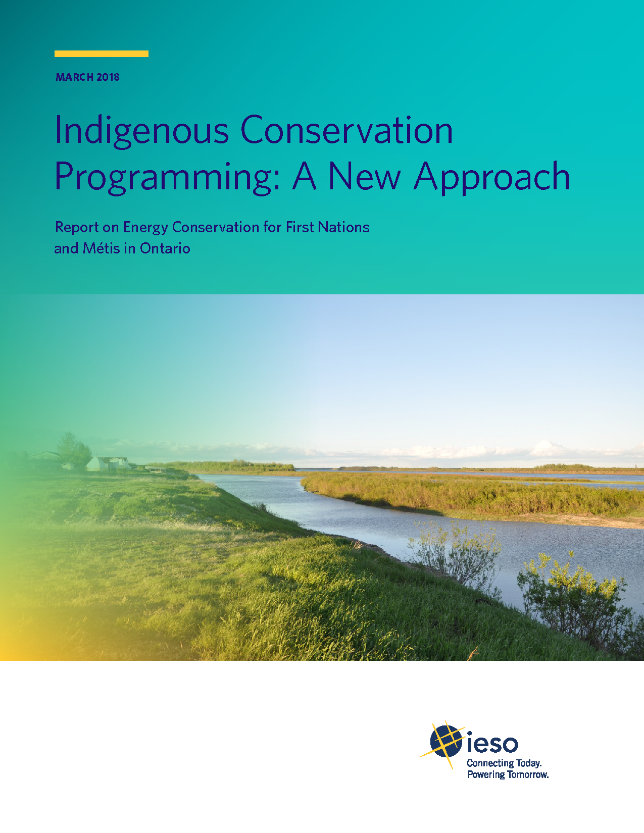 Indigenous Conservation Programming: A New Approach