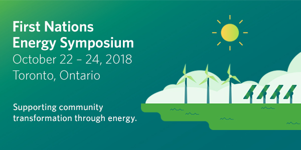 First Nations Energy Symposium 2018 Banner