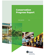 Conservation Progress Report