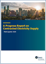 contracted electricity supply report cover