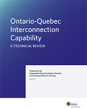 Ontario-Quebec Interconnection Capability